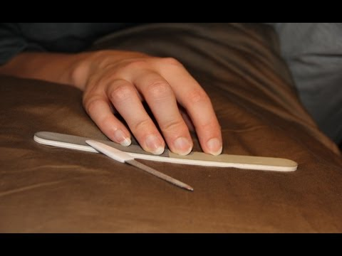 4 Different Nail Filing sounds - Stereo 3D Binaural ASMR