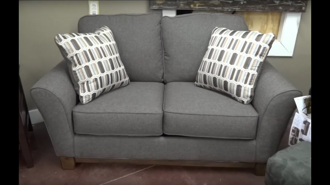 Ashley Furniture Janley Slate Sofa 438 Review  YouTube