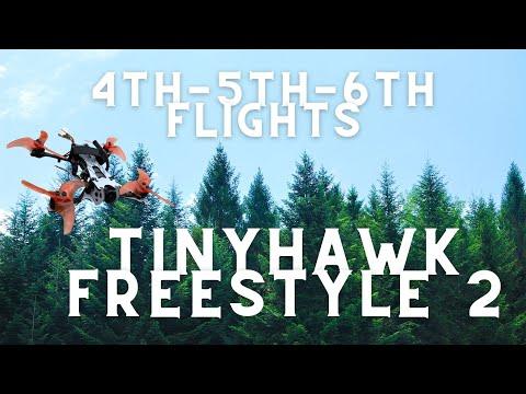 Фото Fpv Freestyle Flight 4-5-6 TinyHawk freestyle 2   Best beginner Fpv freestyle drone