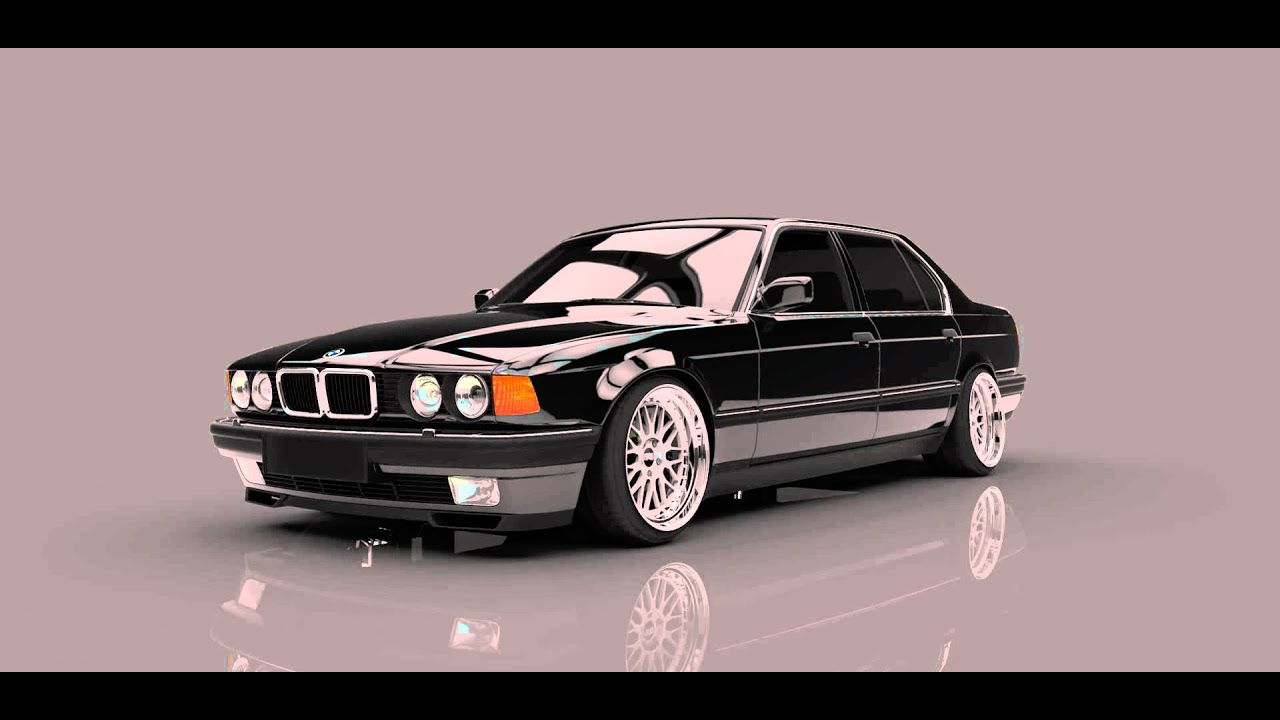 Bmw E32 Air Ride Studio Youtube