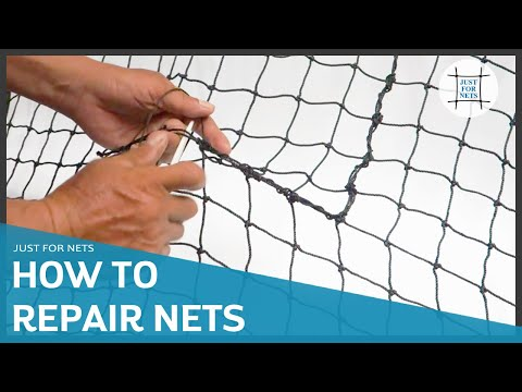 How To Repair Sporting Nets - Just For Nets