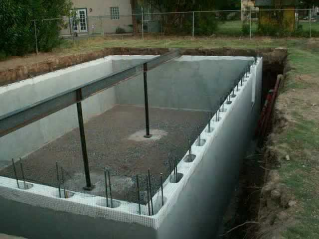 Green Rhino Building Systems Basement, Can You Put A Basement Under Pole Building