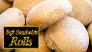 Sandwich Rolls (Soft)