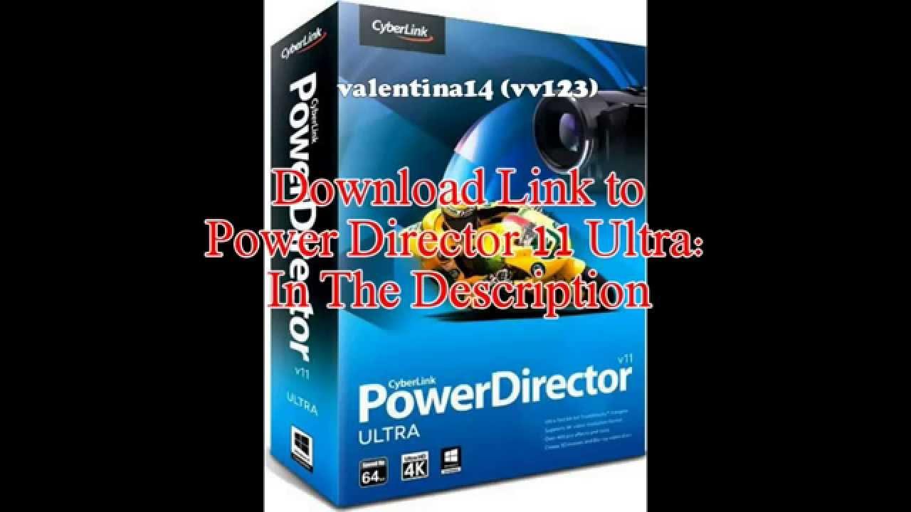 Powerdirector 11 ultra free trial download