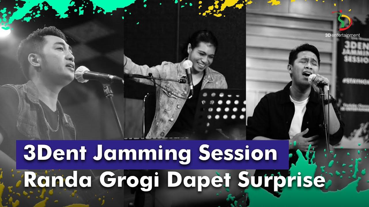 3Dent Jamming Session - Irwan,Ridwan,Randa | Spesial Surprise Buat Randa, Langsung Grogi