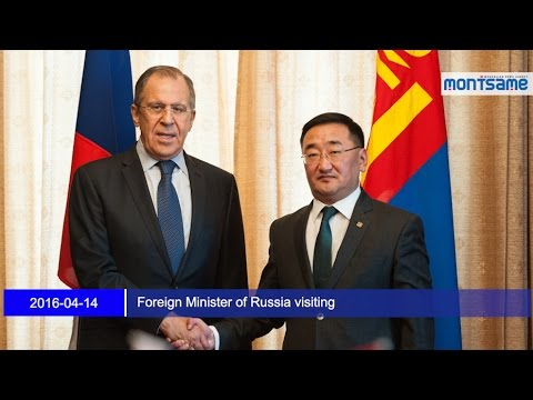 Foreign Minister of Russia visiting