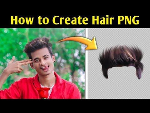 How To Create Hair PNG 🤔    Autodesk Sketchbook Hair Design Tutorial    Hair PNG    Hair Style Edit
