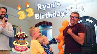 Ryan's Surprise Birthday Party!