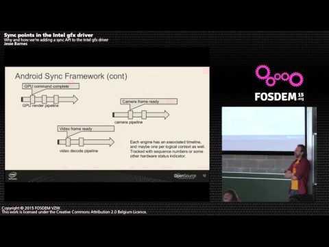 FOSDEM 2015 - Developer Room - Graphics - Ntel Gfx