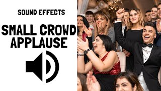 Small Crowd Applause Sound Effects No Copyright Music Free Download for YouTube