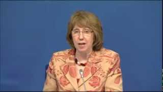 Foreign Affairs Council - Catherine Ashton Press Conference