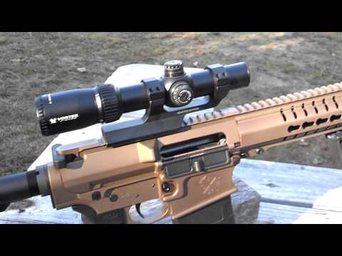 Vortex Optics, Crossfire II 1x4x24 Review