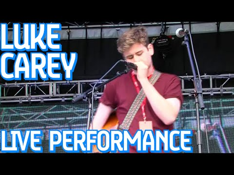 Luke Carey, LIVE On The Visa Music Stage At Formula E!