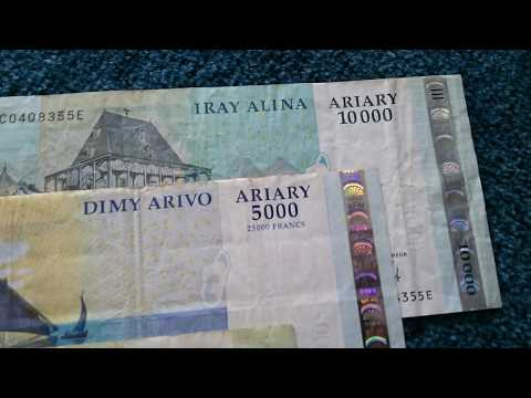 #Currency special part 33: Madagascar Ariary