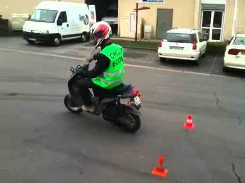 BSR permis scooter/am - auto ecole Lubek hénin-beaumont, courrieres, douai - formation permis