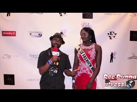 Big Vegg Interviews Miss Fashion Week Jersey city Runway 2018 @ The Miss Fashion Week Jersey City