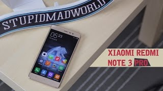 Xiaomi Redmi Note 3 Pro распаковка, первый взгляд, antutu, тест камеры.