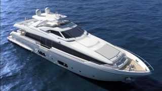 Luxury Flybridge Yacht - Ferretti Yachts 960