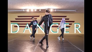 TAEMIN - DANGER | #theINstituteofDancers | Choreography IAN EASTWOOD recreated by EDEN