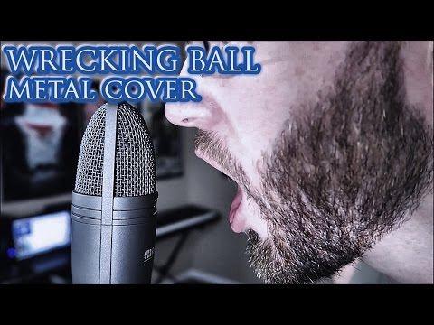 Wrecking Ball - Miley Cyrus Metal Cover ft. Travis Box