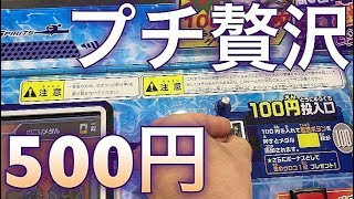 プチ贅沢!!500円で釣りスピを楽しむ!!魚釣り体験 メダルゲーム