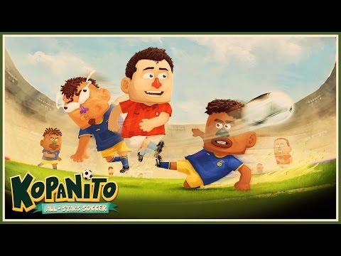 Muito Melhor Que FIFA 17  - Kopanito All Stars Soccer