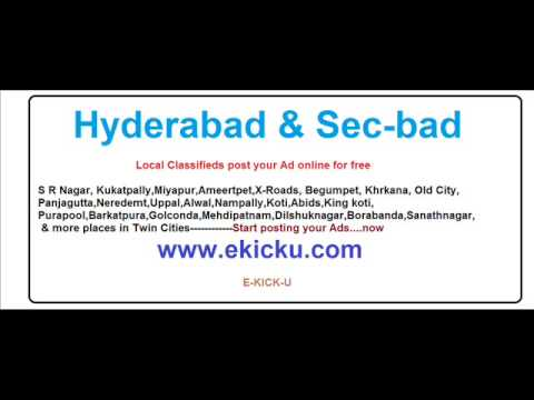 Flats for sale in Hyderabad - post your Ad in www.ekicku.com