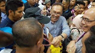 Anwar wins PD with huge vote majority despite low voter turnout