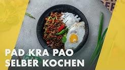 Pad kra Pao selber kochen - wie geht das?   Reise durch Thailand!