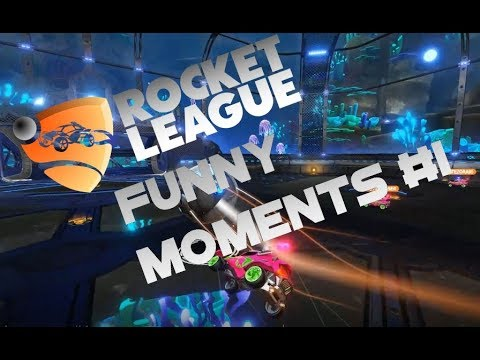 Rocket League Funny Moments #1 feat. NiRoy & Hy5tericc a.k.a. Mikail