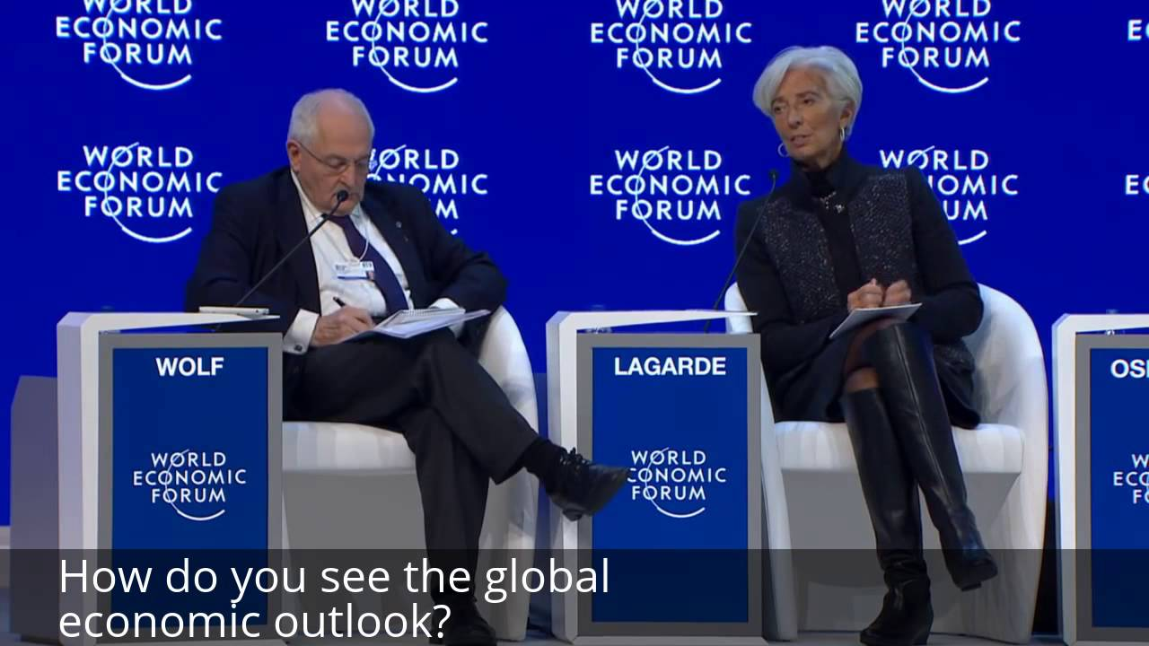 Christine Lagarde Interview: Global Economic Outlook 2016 - Christine  Lagarde View