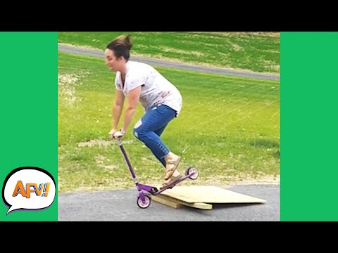 Tiny Ramp, BIG FAIL! 😂 | Funnies & Fails | AFV 2020