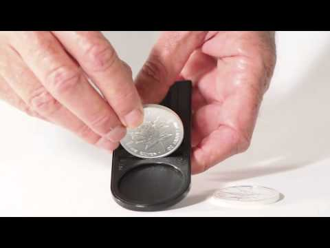 How to detect a fake Maple Leaf Silver coin with the Fisch