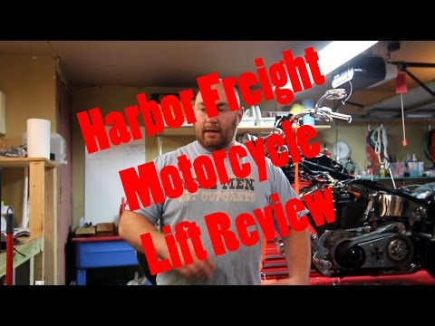 MaksWerks Reviews - Harbor Freight Motorcycle Lift Review and Mods (68892 / 69904)