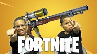 Fortnite - New Heavy Sniper Rifle - Nintendo Switch XBox and PC Cross Play Fun With Subscribers