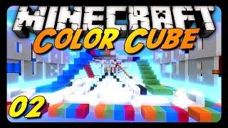 Minecraft - COLOR CUBE! - Team Game - w/ AntVenom & Friends! (Mini-Game)