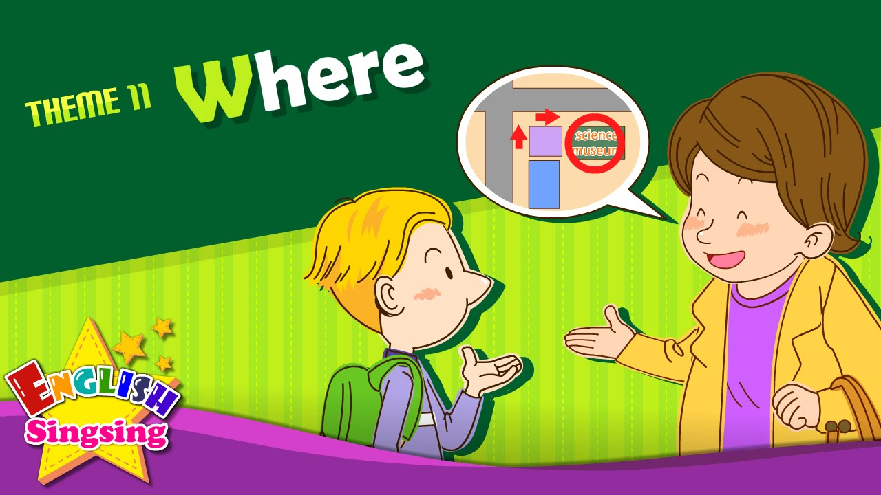 Theme 11. Where - Where Is It? - Asking The Way