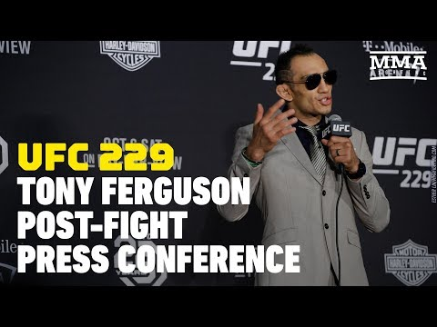 UFC 229: Tony Ferguson Post-Fight Press Conference - MMA Fighting