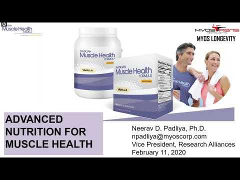 MYOS Webinar Series: Addressing Muscle Health in Older Adults with Fortetropin®