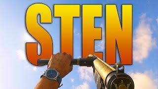 STEN GAMEPLAY - New COD WW2 SMG DLC (Overpowered?)
