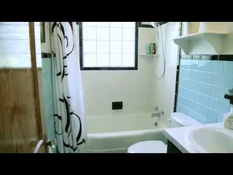 Merveilleux Checking In With Chelsea   Bathroom Update   Homax Tough As Tile   YouTube