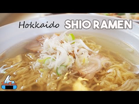 Amazing Shio Ramen (Hakodate Salt Ramen Food Review)