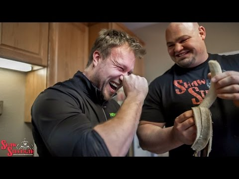 World's Strongest Man Makes a Protein Shake - ft. Furious Pete