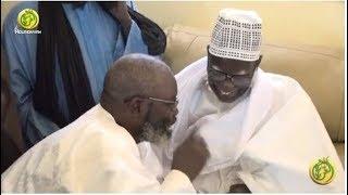 Serigne Atou Diagne  après sa rencontre avec le khalif Général des Mourides à Mboul