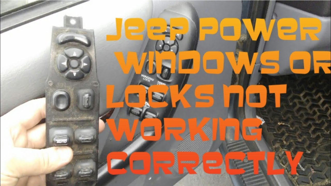 Jeep Power Windows Or Locks Not Working Correctly Youtube