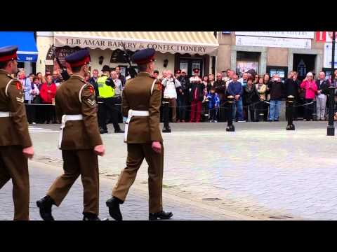 Changing the guard -Gibraltar 11th April