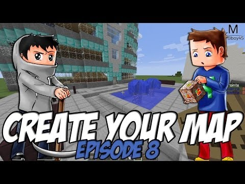Create Your Map | Devant L'Hôtel / Marché | Episode 8 / Minecraft