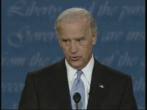 Biden's emotional moment