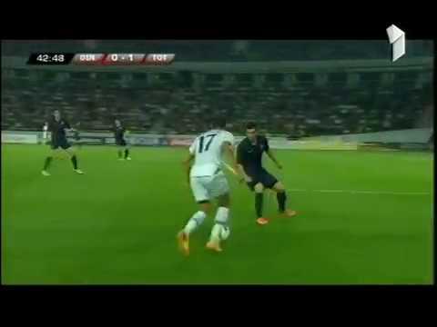 Football - UEFA Europa League - 2013-14 - Dinamo Tbilisi-Tottenham Hotspur - Paulinho's goal