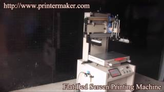 Flat Bed Screen Printing Machine,plane Screen Printing Machine,china